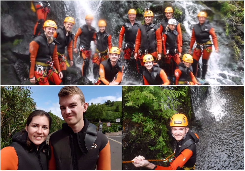 Canyoning Açores São Miguel Activités