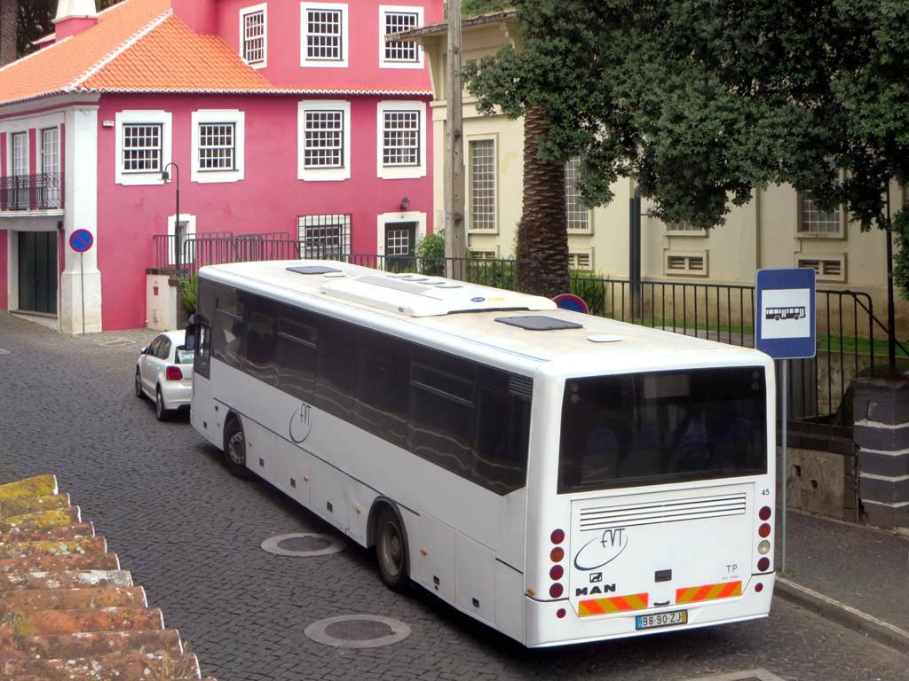 Bus de la compagnie EVT sur l'île de Terceira